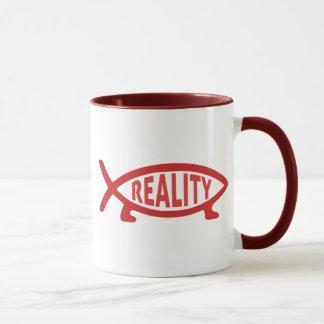 Reality Darwin Fish Mugs