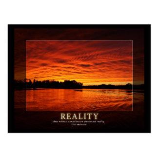 Reality - Ideas in Motivation Postcard