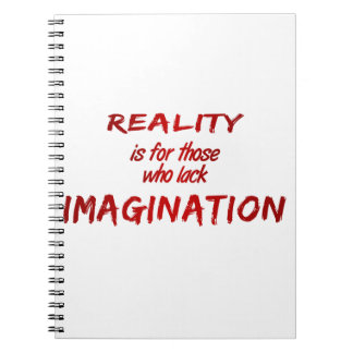 Reality/Imagination Notebook