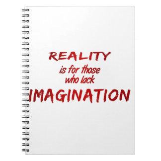 Reality/Imagination Notebook