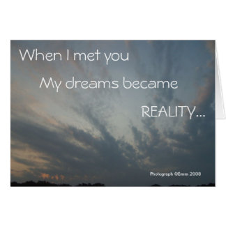 Reality Nightmare Card