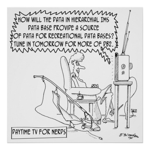 Reality TV Cartoon 1456 Poster