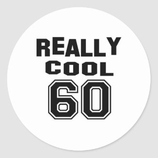 Really cool 60 round sticker