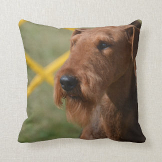 Really Cute Airedale Terrier Throw Pillow