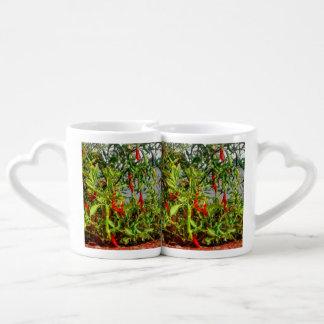 Really hot coffee mug set