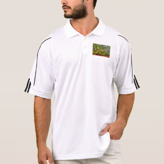 Really hot polo shirt