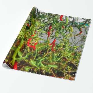 Really hot wrapping paper