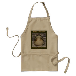 REALLY, I don't taste anything like chicken! Adult Apron