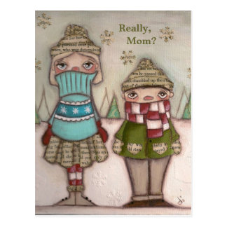 Really, Mom - Postcards