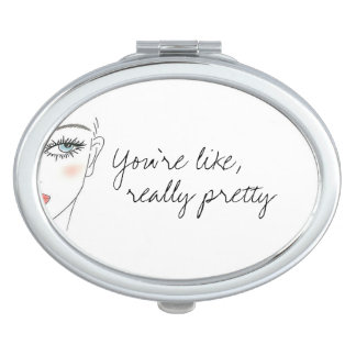 Really Pretty Compact Mirror