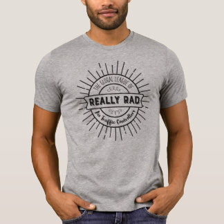 Really Rad Air Traffic Controllers - Black Text T-Shirt