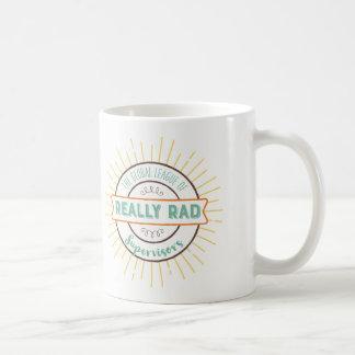 Really Rad Supervisors - Color Coffee Mug