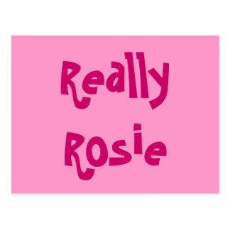 Really Rosie Postcard