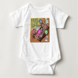 Really Stretched Mommy! Baby Bodysuit