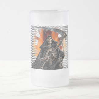 Reaper - Frosted Glass Stein