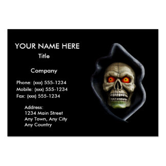 REAPER (Halloween skull design) ~ Business Card Templates