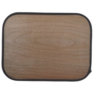 Rear Cherry Wood Print Car Mats Car Carpet