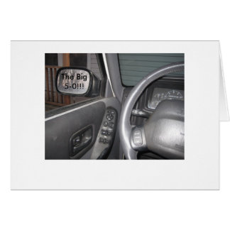 Rear View Mirror (50) Card