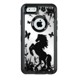 Rearing Black Stallion OtterBox iPhone 6/6s Case