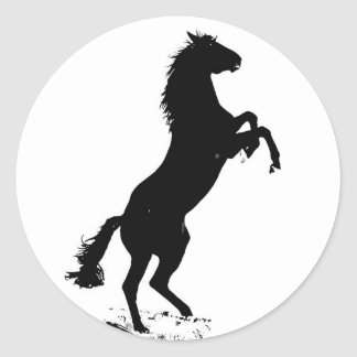 Rearing Horse Sticker
