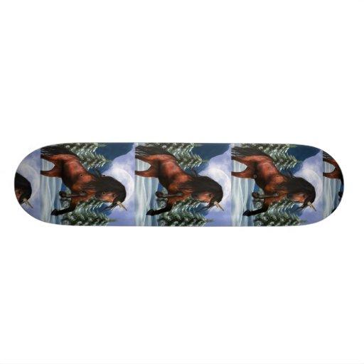 Rearing Unicorn Skateboard