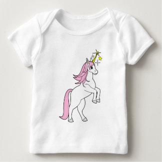 Rearing Unicorn with Stars Tee Shirt