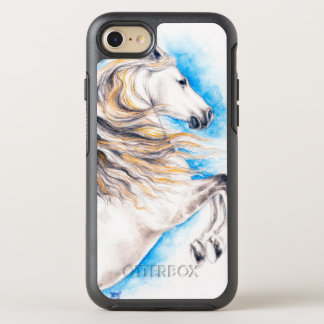 Rearing White Horse OtterBox Symmetry iPhone 8/7 Case