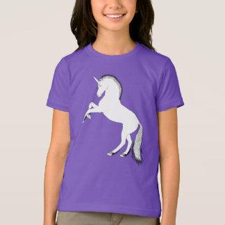 Rearing white unicorn T-Shirt