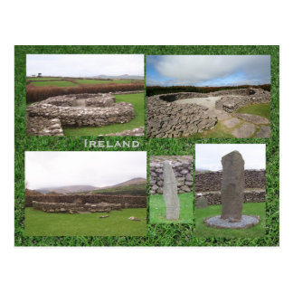 Reask Monastic Site, Kerry Ireland Postcard