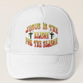 Reason For The Season Easter Trucker Hat