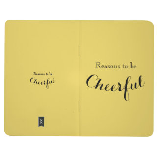 Reasons to be Cheerful Journal