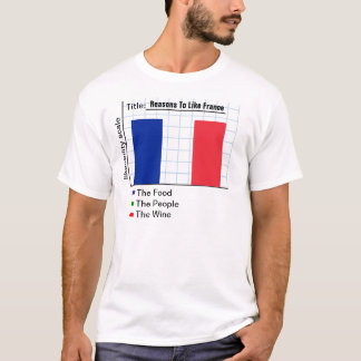 Reasons To Like France Graph T-Shirt