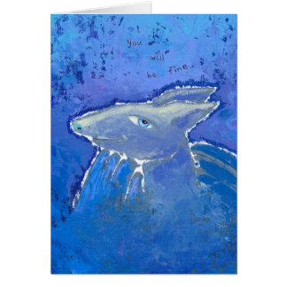 Reassuring Armadillo prediction ART Card