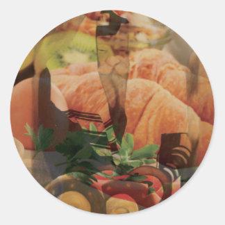 Rebbe Davenen Classic Round Sticker