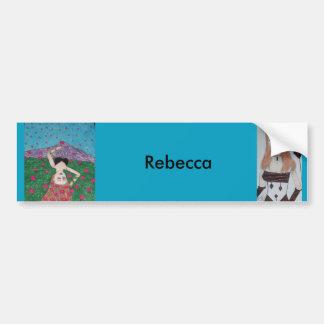 Rebecca Bumper Sticker