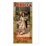 Rebecca de l'adaptation 1911 d'étape de ferme de S Carte Postale