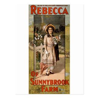 Rebecca of Sunnybrook Farm Stage Adaptation 1911 Postcard