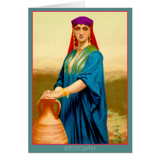 Rebekah at the Well Card