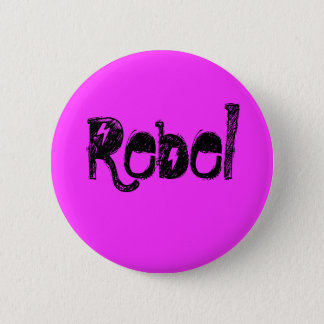 Rebel 2 Inch Round Button
