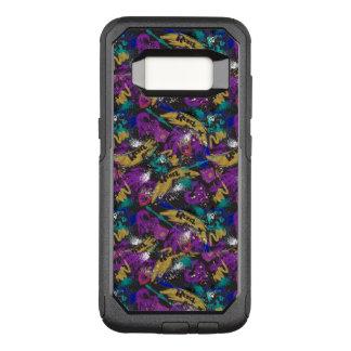 Rebel Additude Pattern OtterBox Commuter Samsung Galaxy S8 Case
