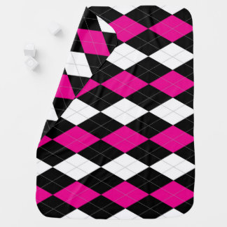 Rebel Argyle Baby Blanket