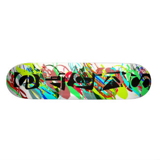 REBEL, ATTACK, FIGHT, DEFEAT, DESTROY, CONQUER SKATE BOARDS
