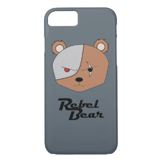 Rebel Bear Cyborg iPhone 7 Case