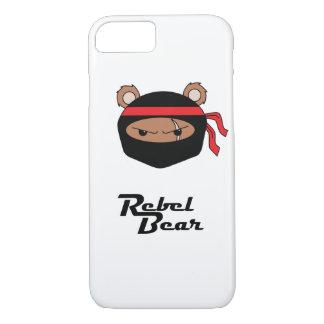 Rebel Bear Ninja iPhone 7 Case
