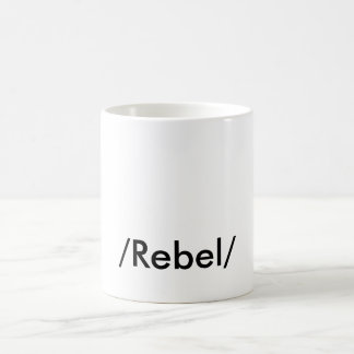 """REBEL"" COFFEE MUG"