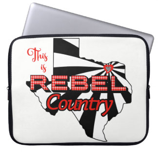 Rebel Country 15 Inch Neoprene Laptop Bag