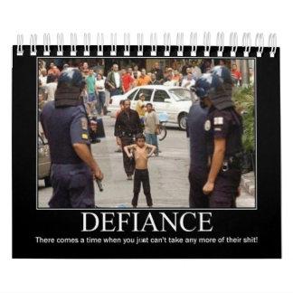 Rebel Defiance Calendar
