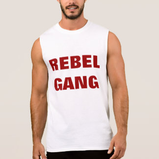 """Rebel Gang"" Sleeveless Shirt"