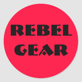 Rebel Gear Round Sticker