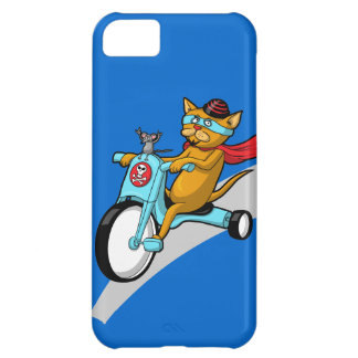 Rebel Kitty Cat with Mouse Pal iPhone 5C Case